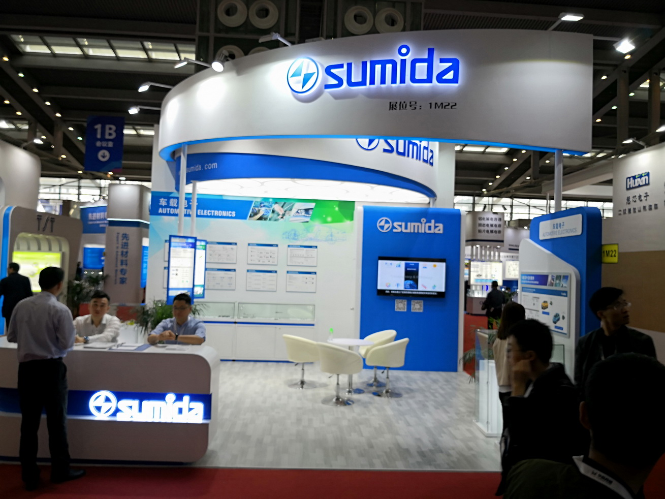 SUMIDA on the ELEXCON & EMBEDDED EXPO 2018